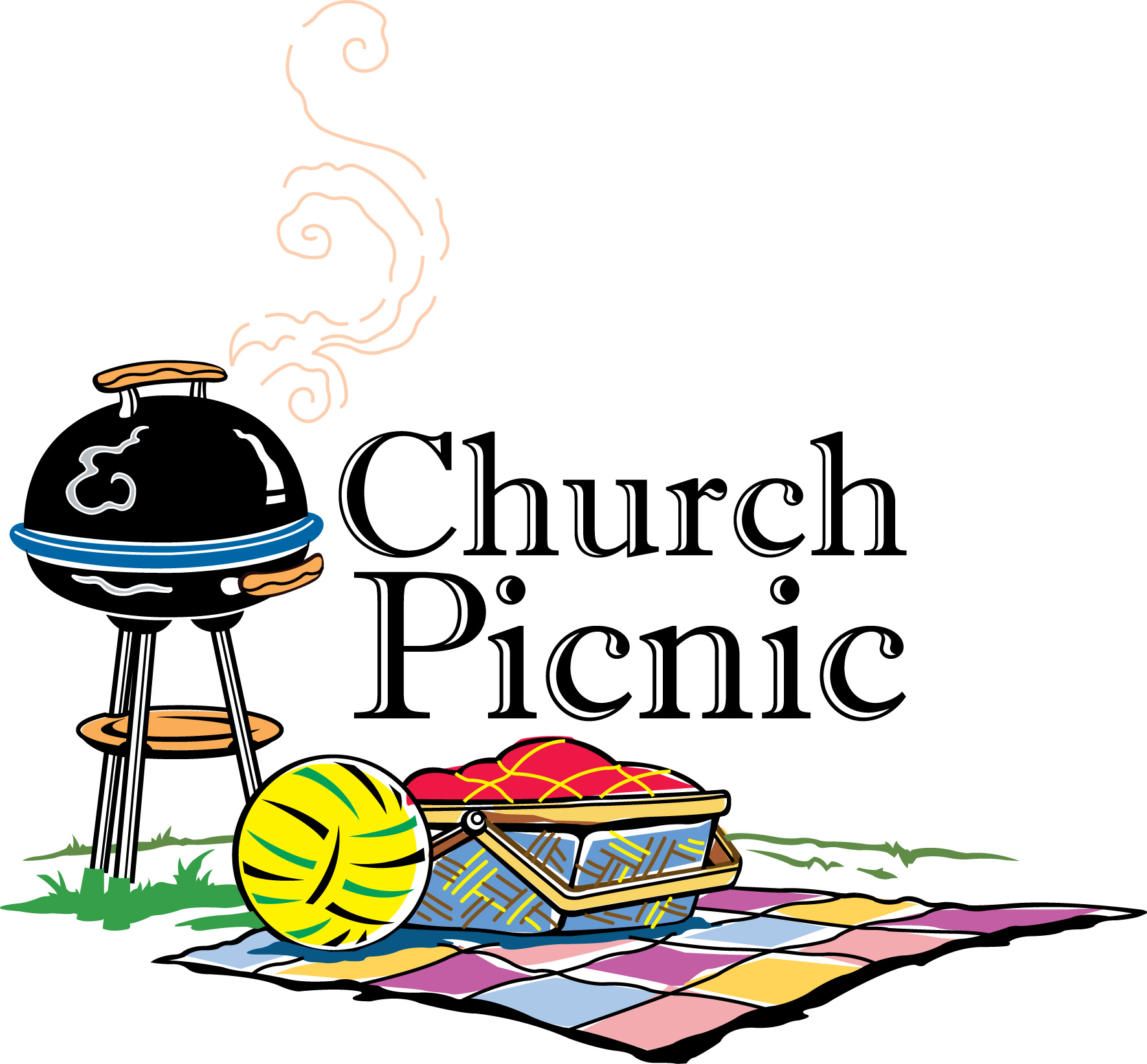 Church Picnic Clipart