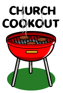 204x300 Church Cookout Clipart