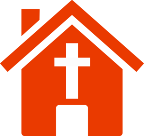 298x282 Church House Clip Art
