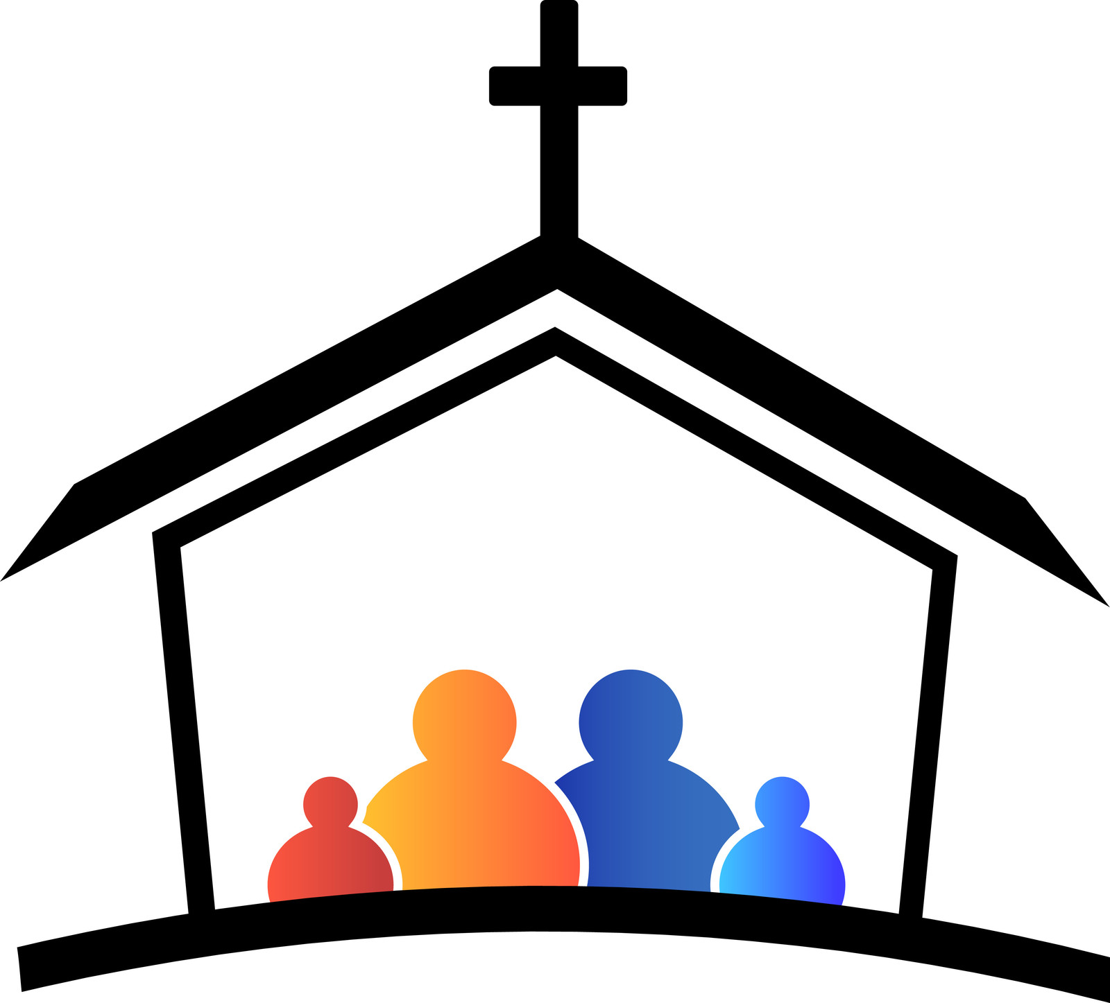 1600x1447 Church Roof Clipart