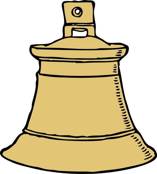 540x598 Church Bell Clipart