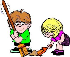 300x243 Church School Clean Up