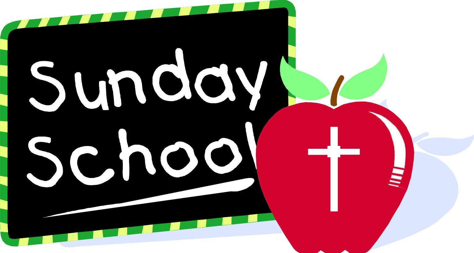 1532x818 Clipart School Sunday