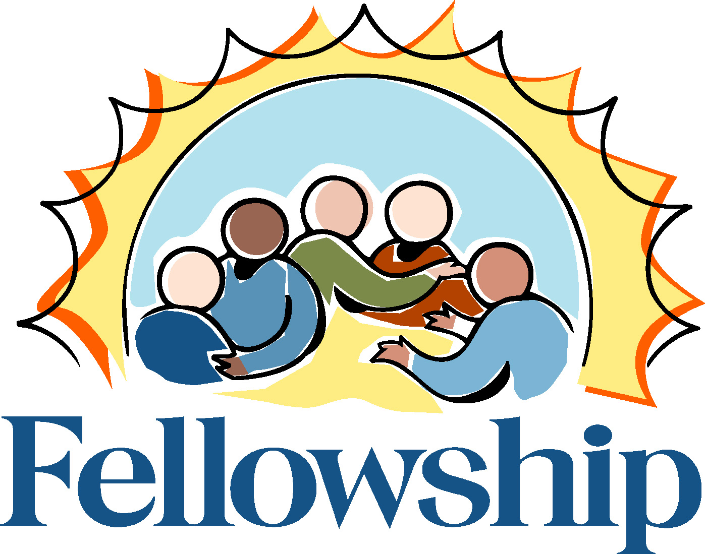 1397x1099 Church Fellowship Dinner Clipart