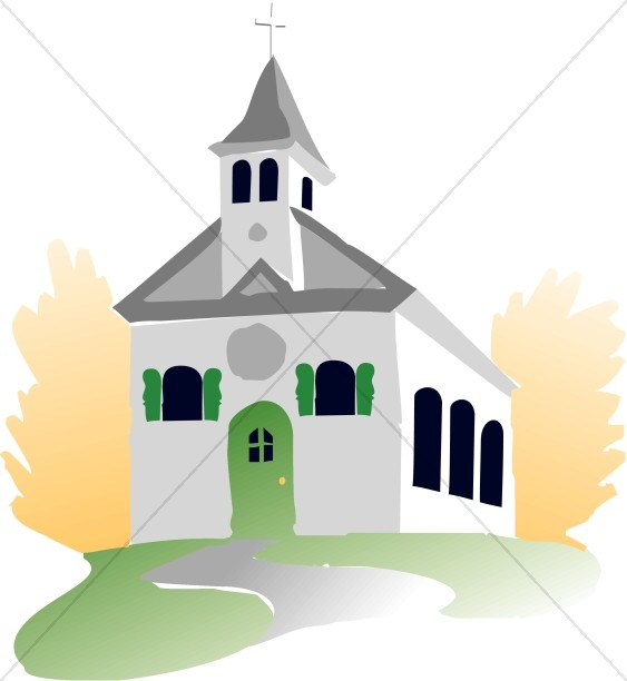 563x612 Welcoming House Of Worship Church Clipart