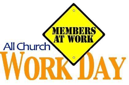 420x278 Church Work Day Clipart