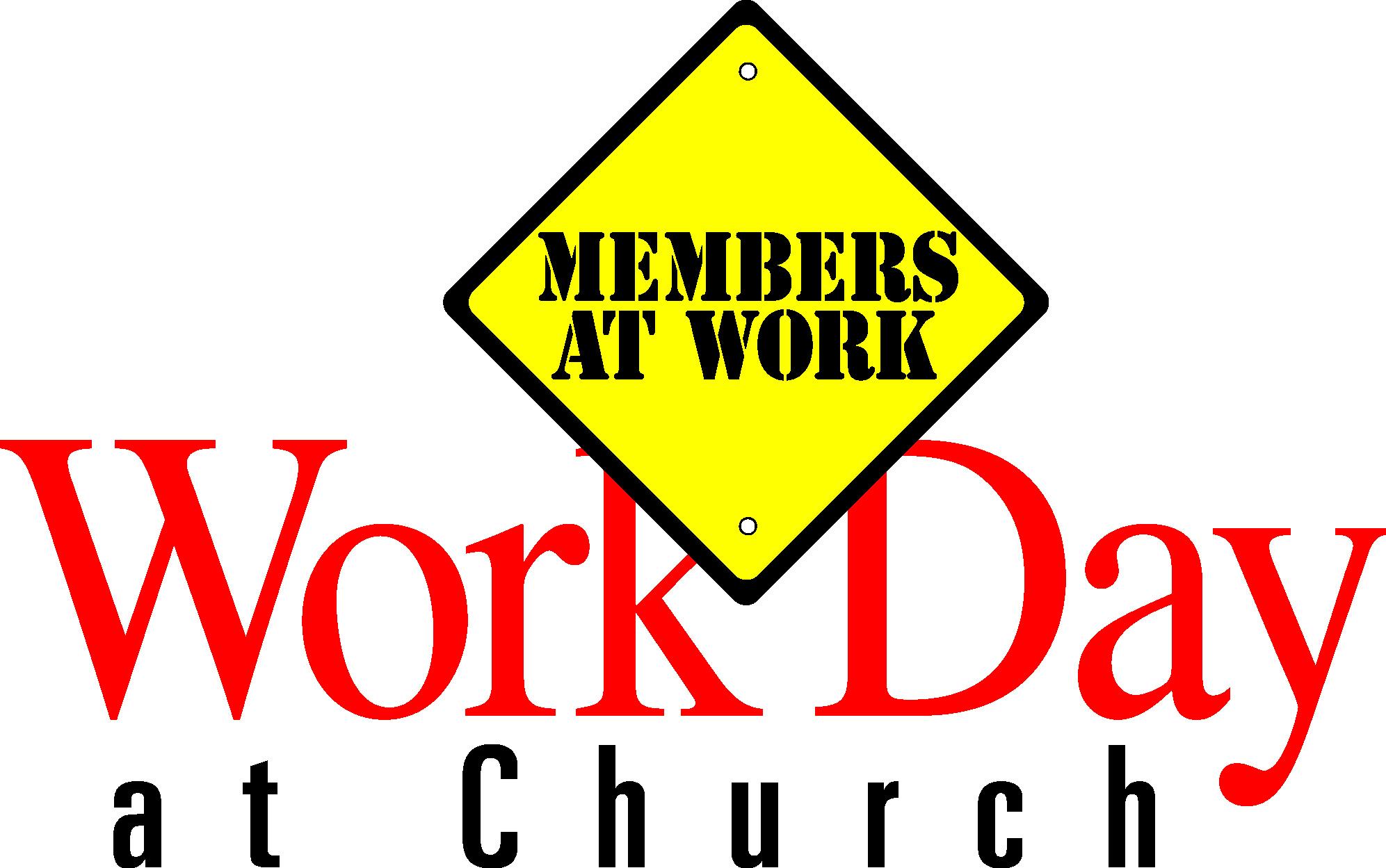 1993x1249 Church Work Day Clipart