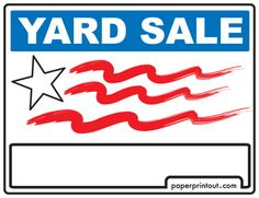 236x181 Download This Yard Sale Flyer Template And Other Free Printables