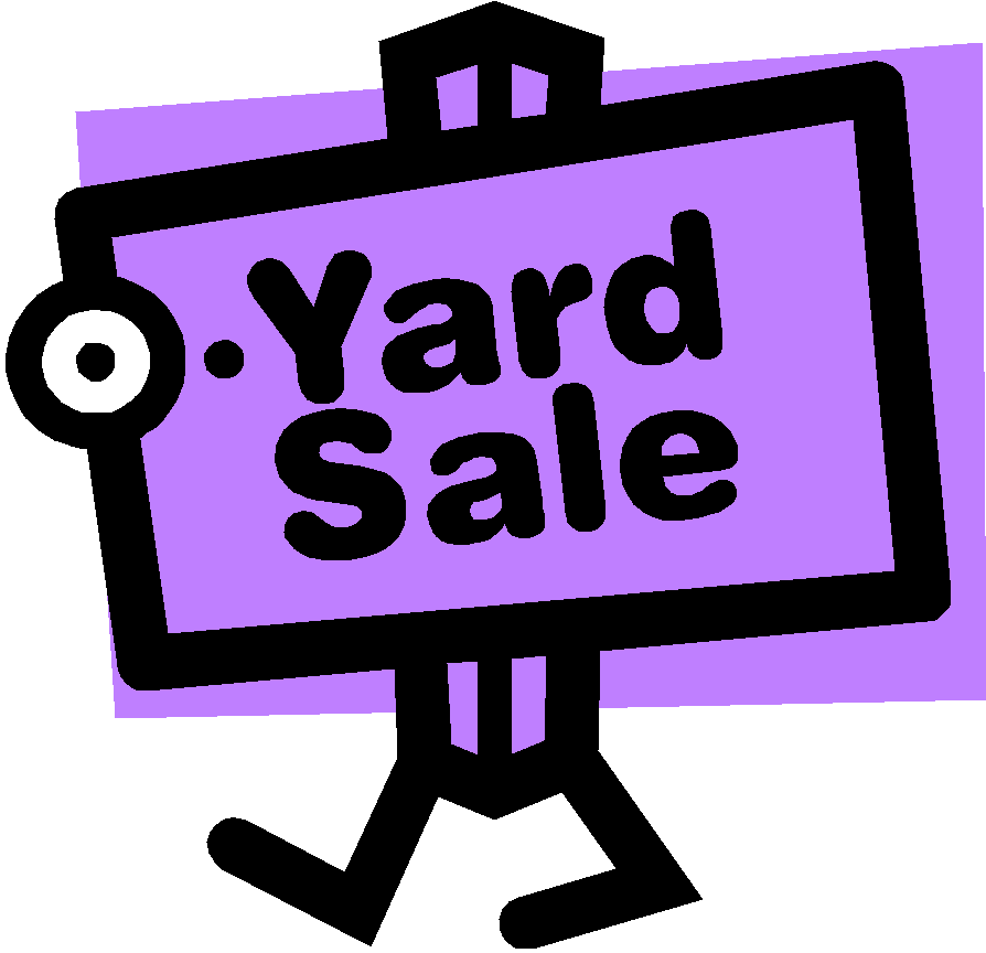894x864 Garage Sale Signs Clipart