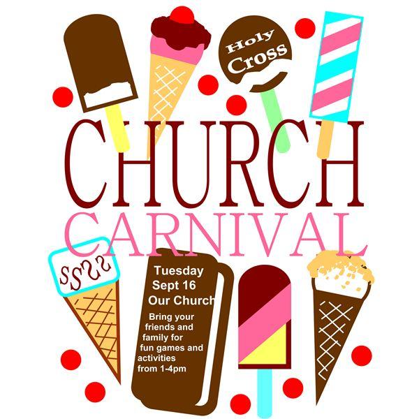 600x600 Church Flyer Design Clipart