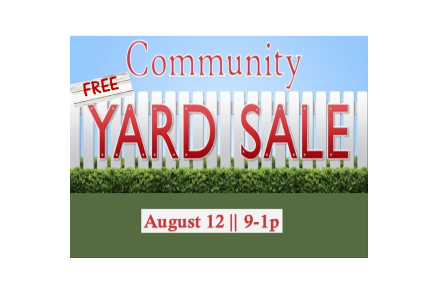 900x600 Free Yard Sale Country Christian Church