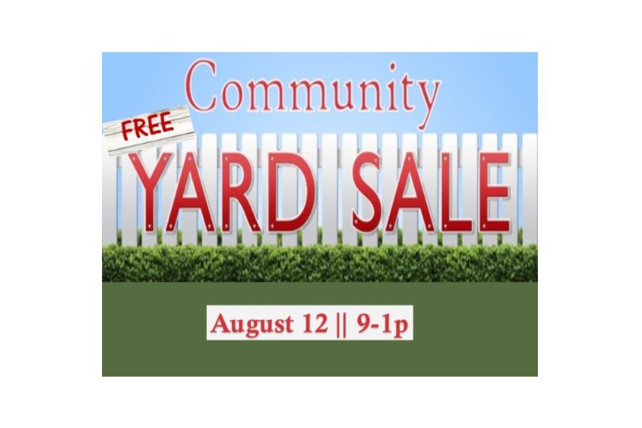900x600 Free Yard Sale Country Christian Church