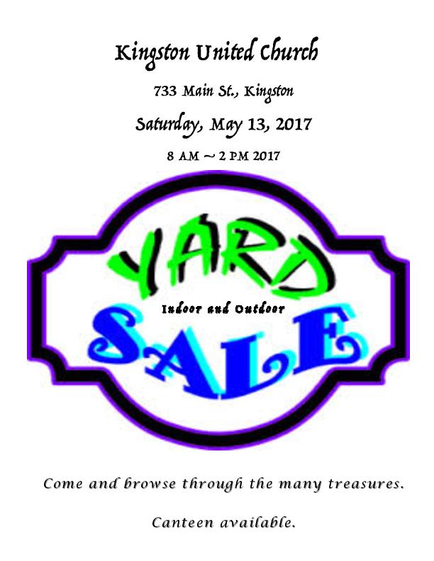 612x792 Church Yard Sale
