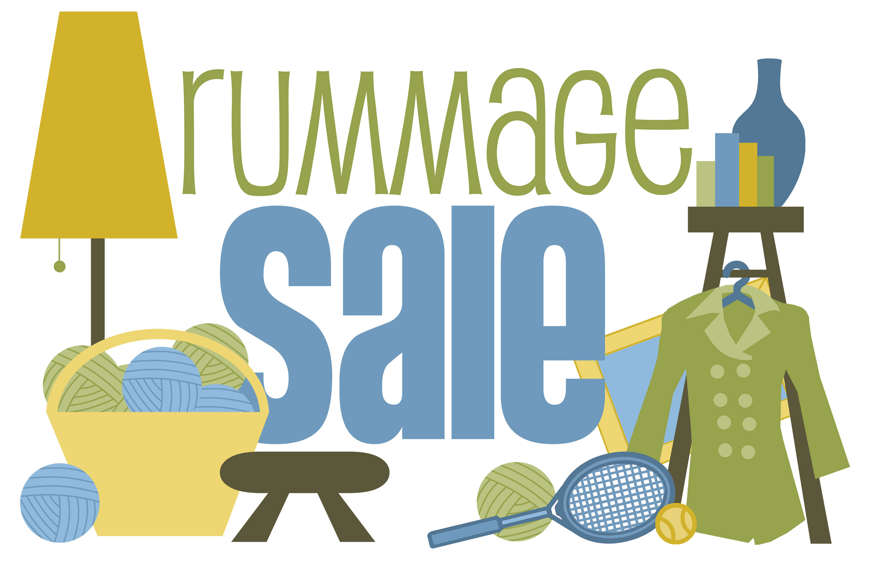 2936x1896 Churchwide Rummage Saleyard Sale Aug. 12 United Riverside