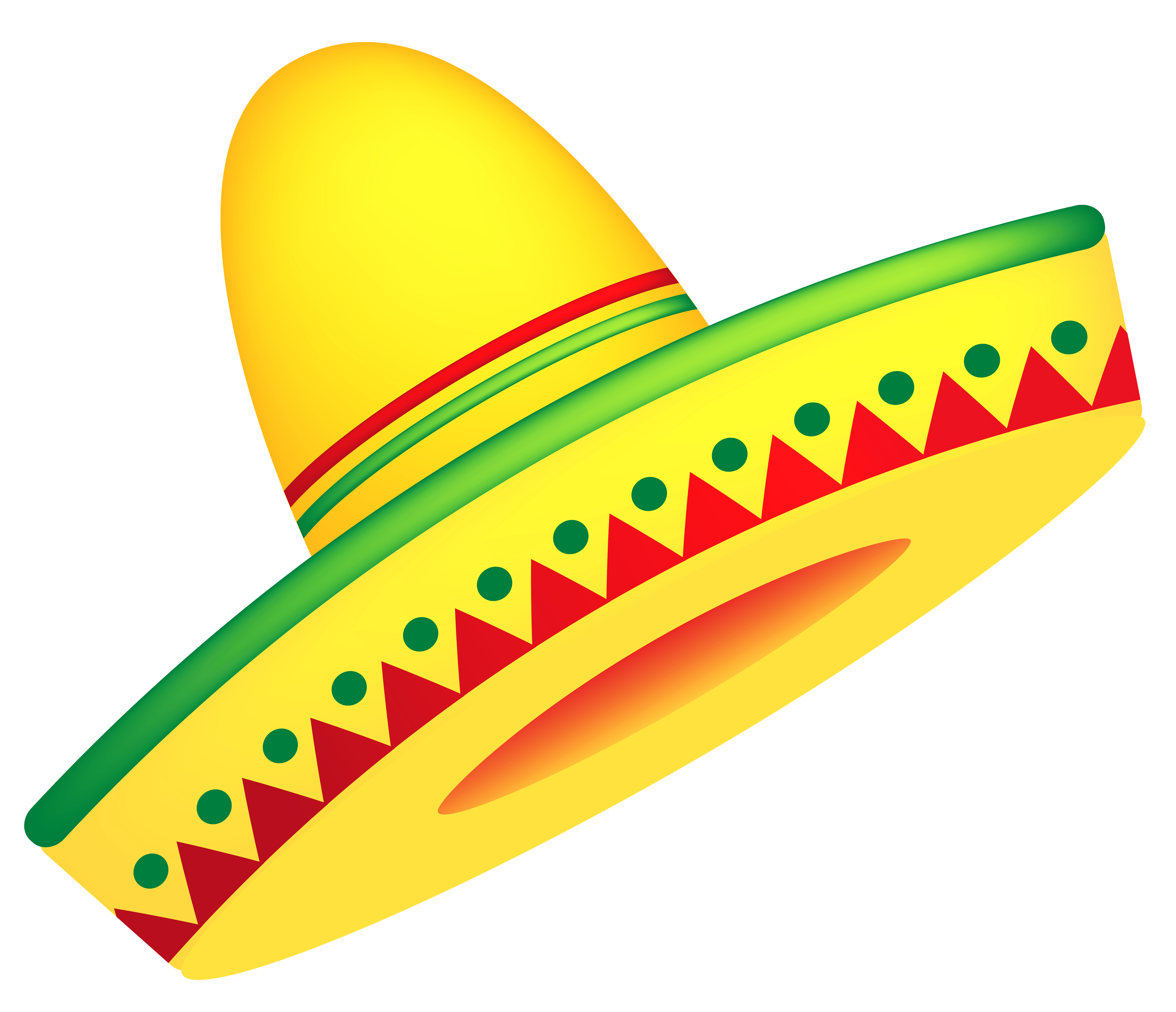 4888x4205 Free Mexican Clipart Collection