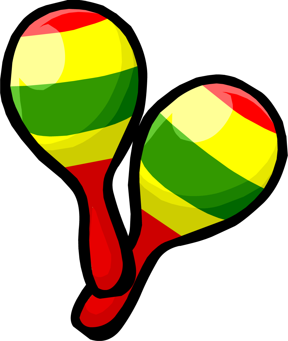 1000x1184 Sombrero Maracas Clip Art 2