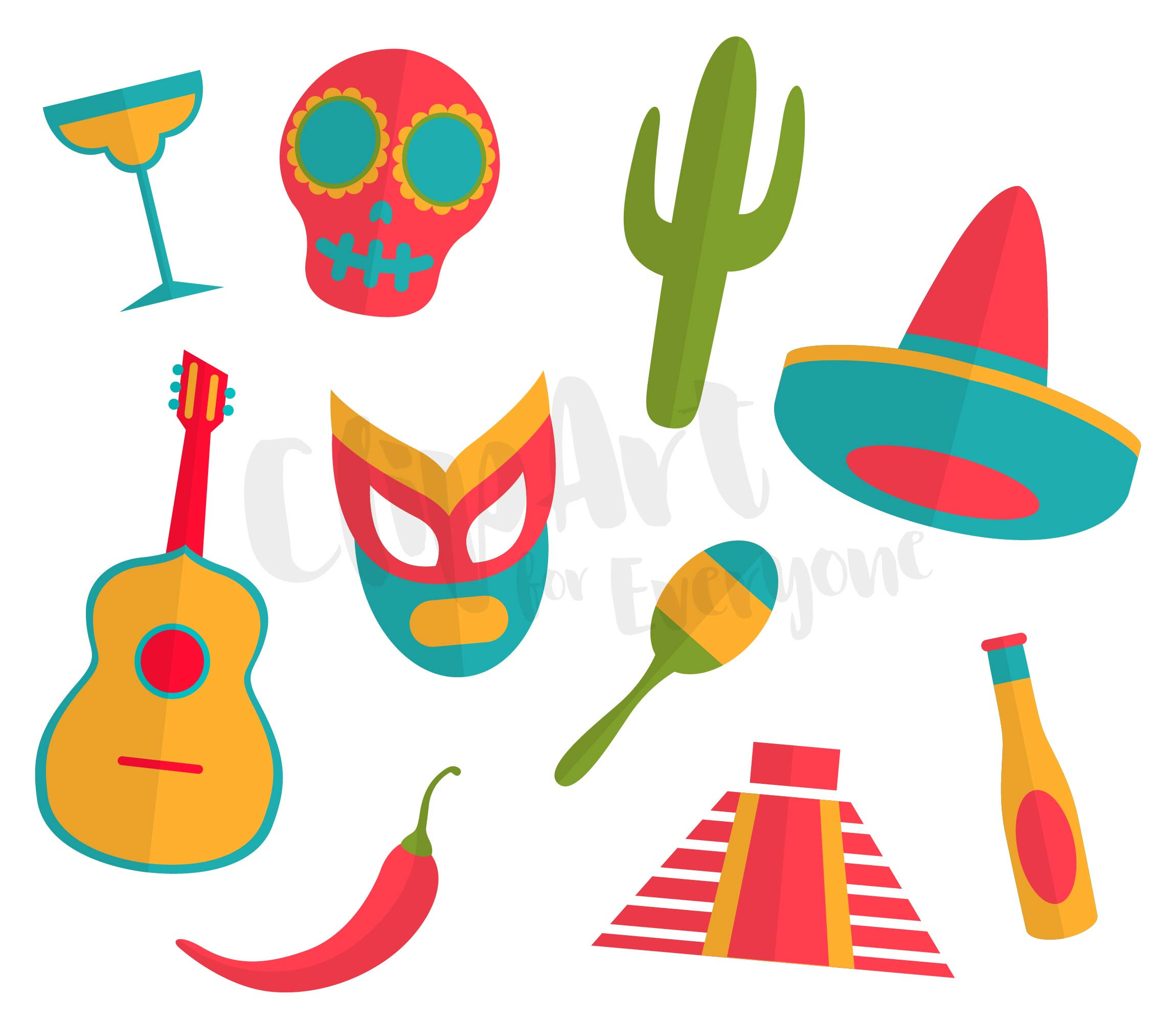 2300x2000 Cinco De Mayo Clip Art, Vector Art, Mexican Clipart
