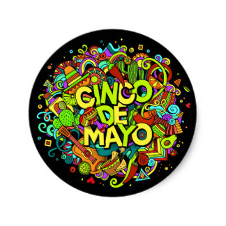 324x324 Mexico Cinco De Mayo Stickers Zazzle