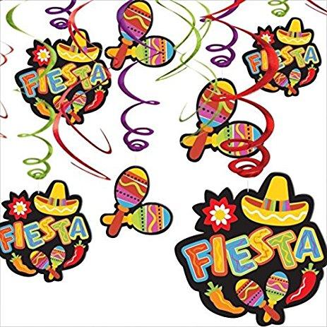 463x463 Amscan Fiesta Cinco De Mayo Maracas Amp Fiesta Hanging