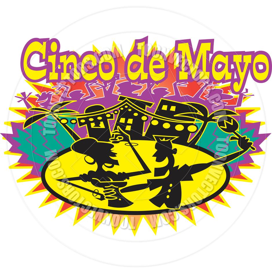 940x940 Cartoon Cinco De Mayo Vector Illustration By Clip Art Guy Toon