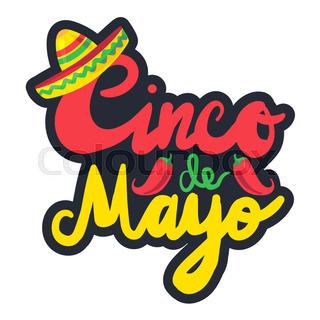 320x320 Illustration Holiday Celebration Background For Cinco De Mayo