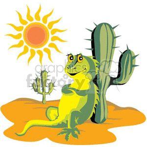 300x300 35 Best Cartoon Mexican Lizard Tattoo Images