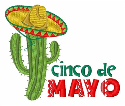 400x340 Cinco De Mayo Embroidery Patterns