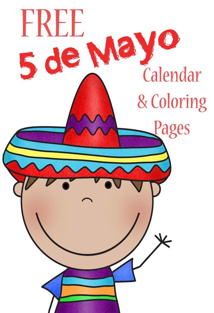 700x1024 Free 5 De Mayo Calendar And Coloring Pages Homeschool, De Mayo