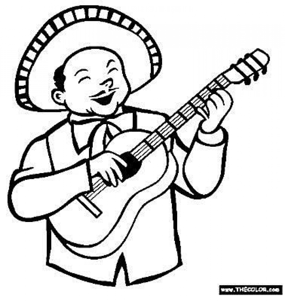 907x960 Get This Printables For Toddlers Cinco De Mayo Coloring Pages