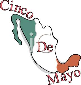 286x300 Mexican Flag On A Map Of Mexico On Cinco De Mayo