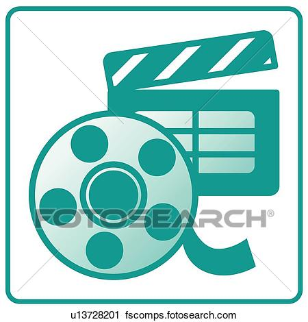 450x470 Clipart Of Cinema, Icons, Movie, Movies, Movie, Movie Set, Icon