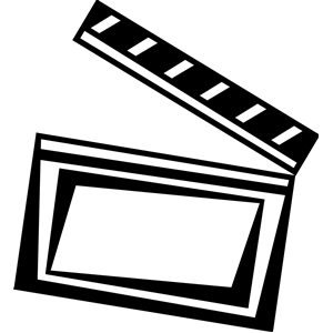 300x300 Image Of Clapboard Clipart 7 Movie Flap Clip Art Vector Movie