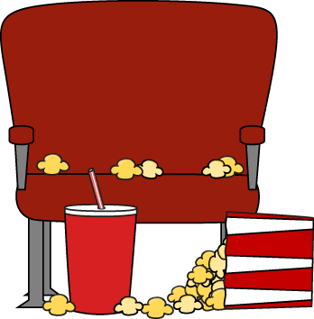 348x354 Movie Cinema Cliparts 235645