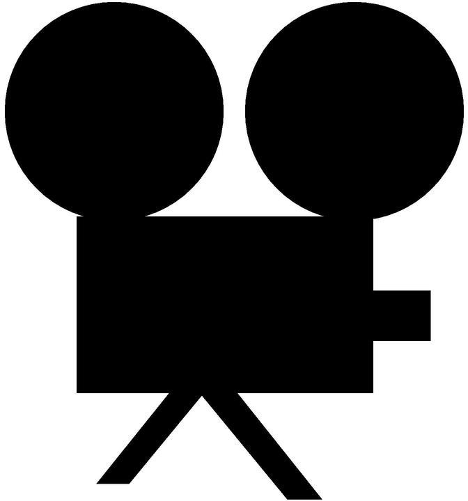 672x720 Cinema Clip Art