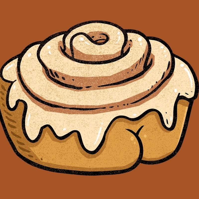 800x800 Cinnamon Roll Butt Laptop Sleeves By Brian Cook Redbubble