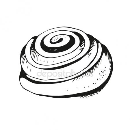 450x450 Cinnamon Roll Icon Stock Vectors, Royalty Free Cinnamon Roll Icon
