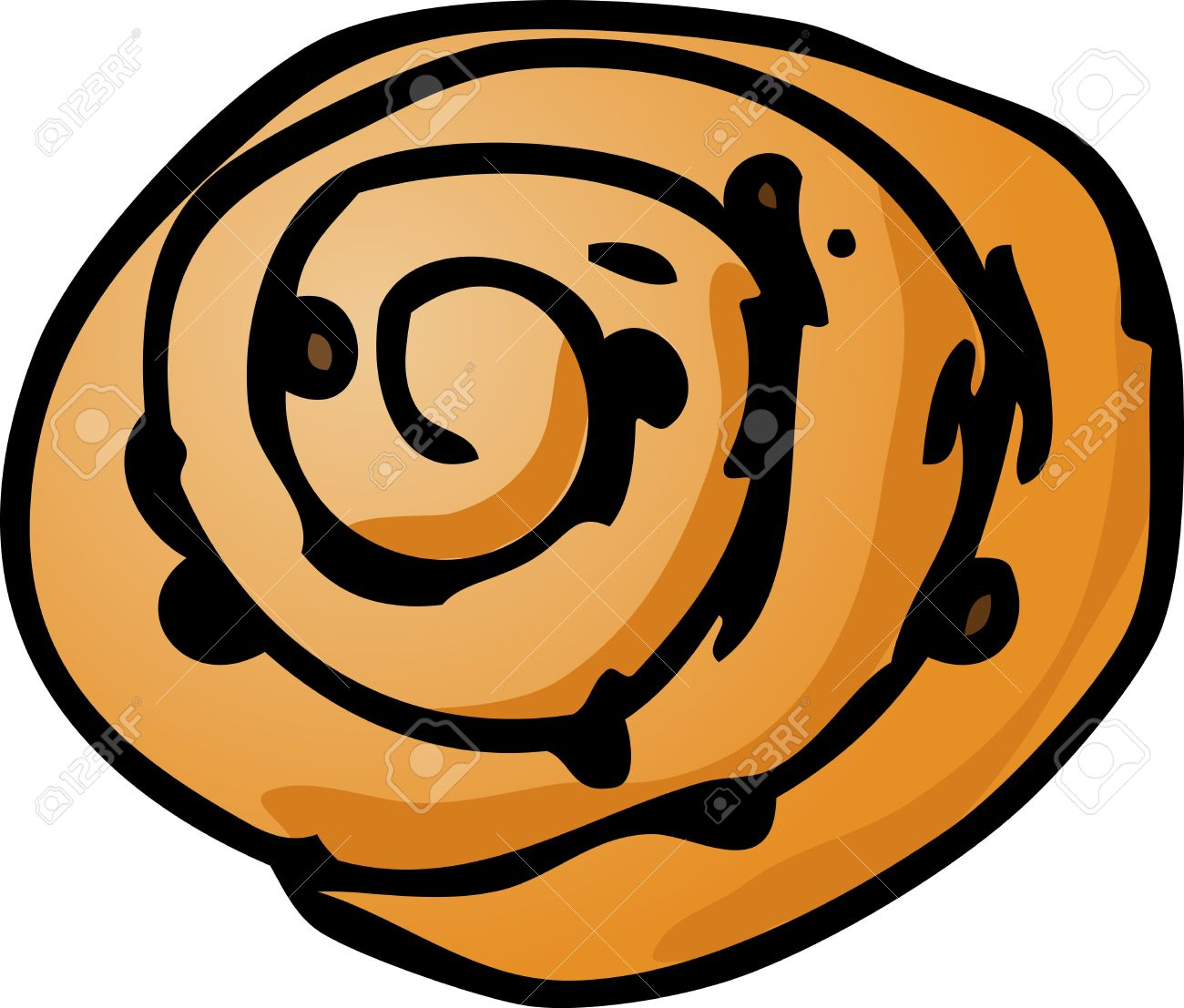 1300x1107 Danish Clipart Bread Roll
