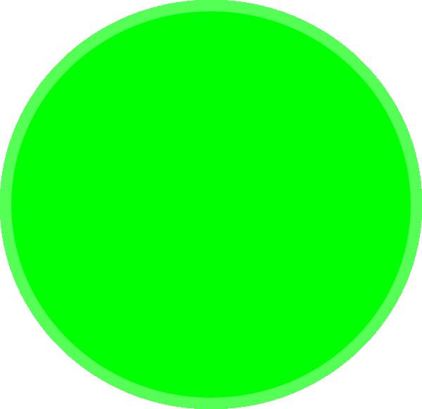 600x581 Green Circle Clipart