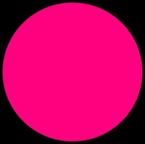 299x297 Pink Circle Clip Art