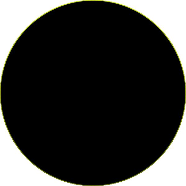 600x600 Black Circle Clip Art