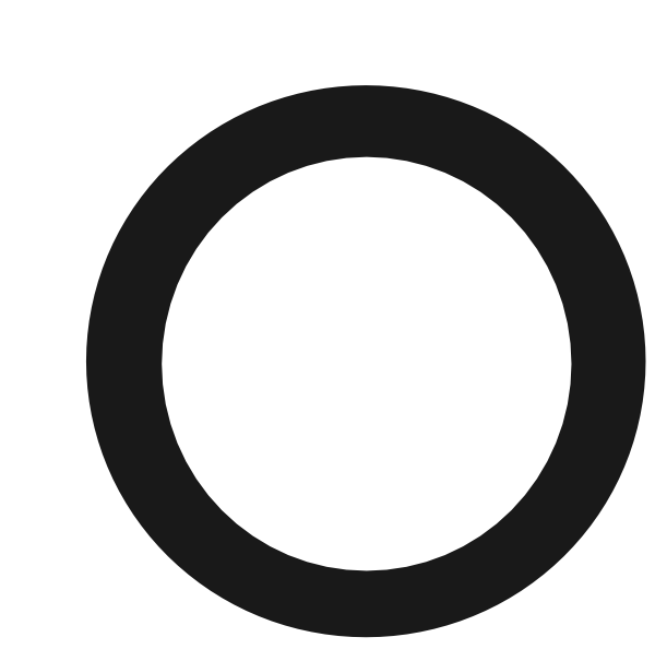 600x594 Black Outlined Circle Clip Art