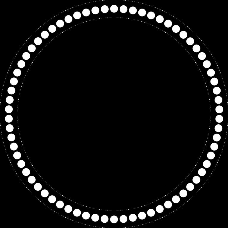 768x768 White Circle Clipart, Explore Pictures