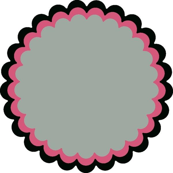 600x600 Circle Clipart Circle Border