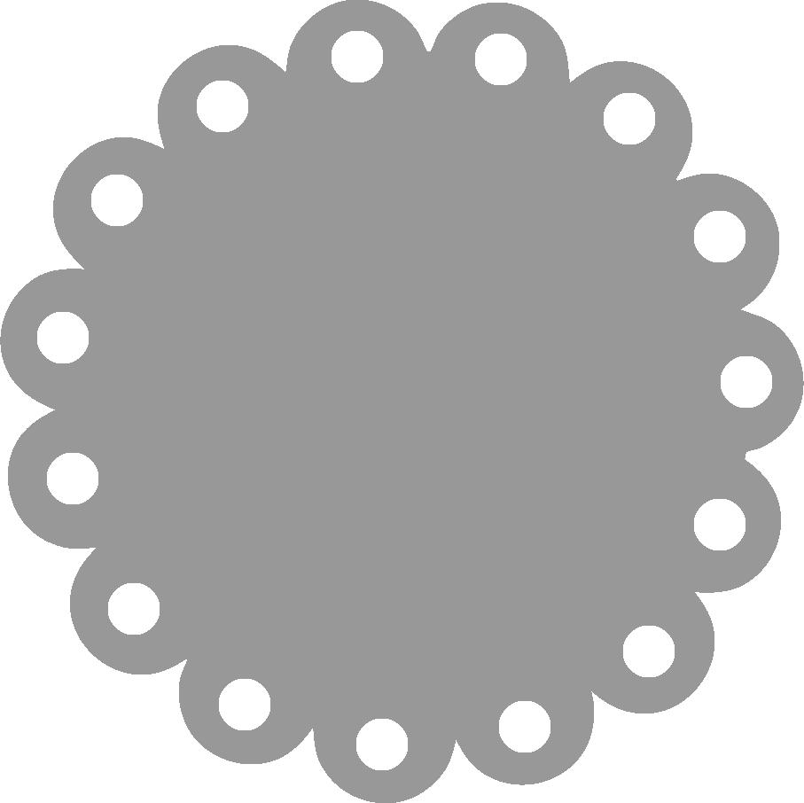 907x906 Circle Clipart Fancy