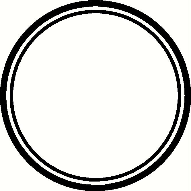 666x666 Circle Clipart Frame