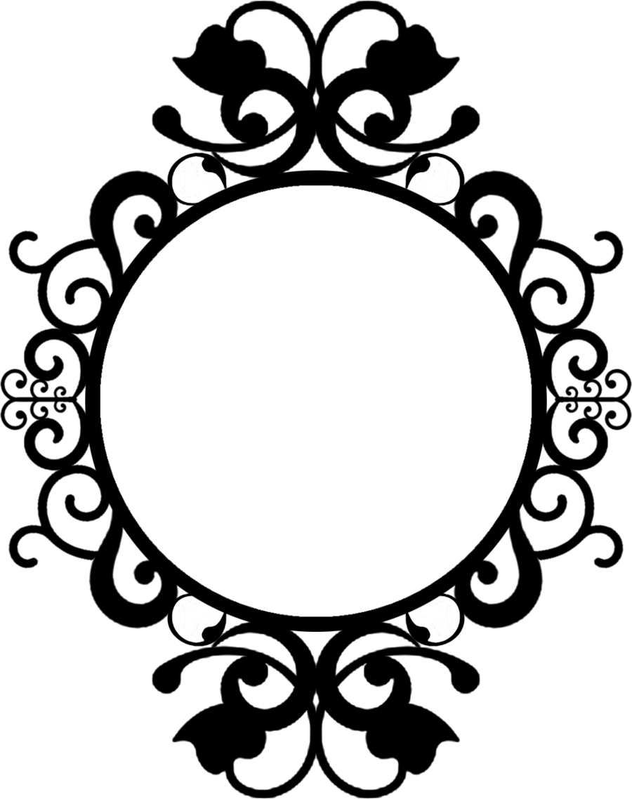 900x1138 Clip Art Outline Frame Clipart
