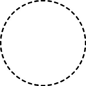 300x300 Circle Line Clipart