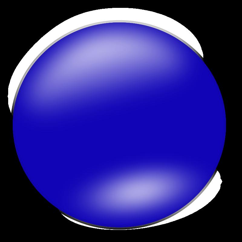 800x800 Blue Circle Clipart
