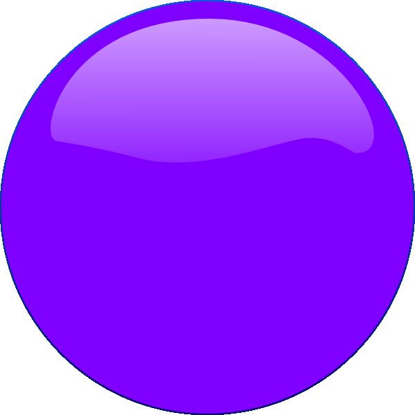 600x600 Purple Circle Icon Clip Art