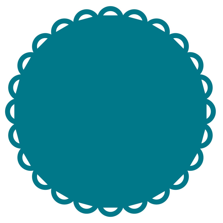 1500x1500 Ribbon Circle 11 12 Steel Rule Die Accucut Craft